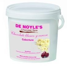 De Noyle's White chocolate cherry wrap