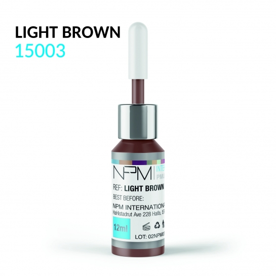 PIGMENT NPM LIGHT BROWN 15003 OCZY  12ml