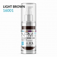 PIGMENT NPM LIGHT BROWN 16001 WŁOSY