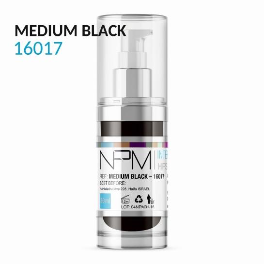 PIGMENT NPM MEDIUM BLACK 16017 WŁOSY