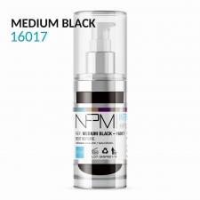 PIGMENT NPM MEDIUM BLACK 16017 WŁOSY