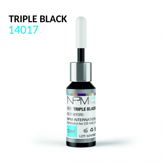 PIGMENT NPM TRIPLE BLACK 14017