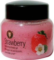 Abacosun SPA Abacosun Spa - Strawberry Exfoliating Shower Gel - 240ml